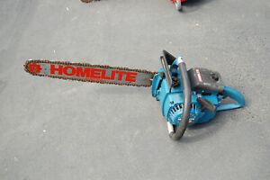 "Homelite Super XL Limited Edition chainsaw w/20"" bar & chain"