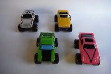"""Micro Machines #39 Turbo Wheels 4 """"FULL SET"""" NEAR MINT ! Galoob 1989 WOW !!"""