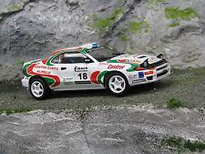 QSP Toyota Celica GT-Four 1:24 #18 Wevers / Ecker ADAC Rallye Deutschland 1999