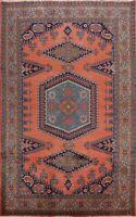 Vintage Geometric Viss Hand-knotted Area Rug Tribal Oriental Wool 8'x11' Carpet
