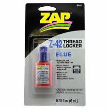 ZAP Glue - Zap Z-42 Blue Thread Locker 0.2oz Bottle