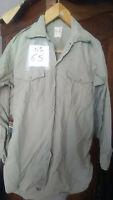 N° 65 bis chemise Beige (Guerre D'Algérie) Taille:C2  vintage