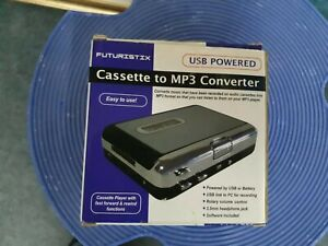 Tape to PC USB Cassette to MP3 Converter Capture Adapter Audio Music Player
