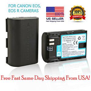 CANON LP-E6NH BATTERY PACK EOSR EOS R R5 R6 MIRRORLESS DIGITAL CAMERA LPE6NH
