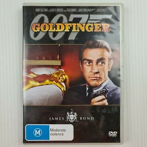 Goldfinger DVD 007 James Bond - Sean Connery - Region 4 - TRACKED POST