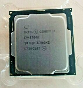 Intel i7-8700K Coffee Lake  LGA 1151 Unlocked CPU TESTED @ 4.9ghz on all cores!