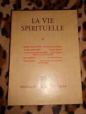 LA VIE SPIRITUELLE N° 375 - Editions du Cerf - Juillet 1952