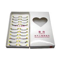 10 Pairs Different Style Lower Under Bottom Eye Lashes False Eyelashes Kits V