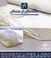 COPRIMATERASSO 1 piazza e mezza  Marta Marzotto elasticizzato spugna di cotone