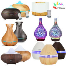 Essential Oil Aroma Diffuser Electric LED Ultrasonic Air Humidifier Air Purifier