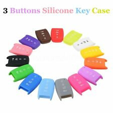 4 Buttons Silicone Key Case Cover Case Fob For KIA K3 Forte Sorento Optima Rio