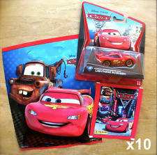 Disney PIXAR Cars 10 BIRTHDAY PARTY LOOT BAGS Random diecast character GOODY