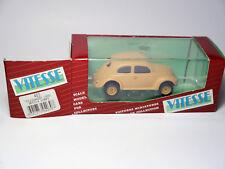 VW KdF Brezel-Käfer Split Window Wehrmacht Afrika Korps Vitesse 1:43 BOXED!