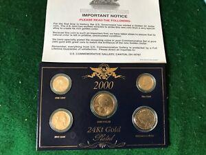 2000 Mint set with Sacagawea -T