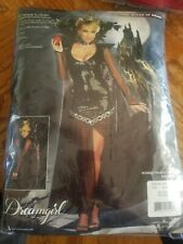 Sexy Evil Wicked Queen of Mean Adult Halloween Costume Size Small
