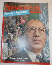 Newsweek Magazine General U Thant January 29, 1962 100316R2