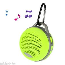 Bluetooth Sport Travel Outdoor Wireless Speaker + Hands Free Calls Neon Yellow