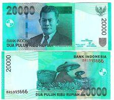 L'Indonesia Indonesia 20000 20.000 rupia 2004/2005 UNC P 144 B