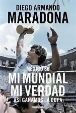 DIEGO MARADONA Mi Mundial Mi Verdad Book Fifa World Cup 1986