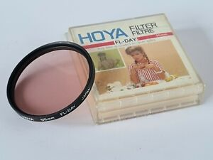 Hoya 55mm FL-Day Filter With Keeper Case, Excellent Condition