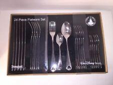 Disney Park Icon Mickey  Flatware 24 Piece Set Silverware Stainless