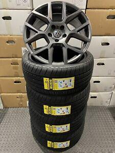 """x4 18"""" GOLF MK6 EDITION 35 ALLOY GTI WHEELS MK5 MK6 MK7 CADDY GTD WHEELS 5x112"""