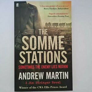 The Somme Stations by Andrew Martin Paperback 2012 Jim Stringer Book 7 Free Post