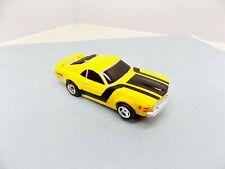 Life Like Ford Boss Mustang Yellow Slot Car