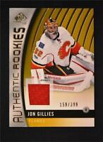 2017-18 Upper Deck SP Game Used Gold Jersey Rookies #171 Jon Gillies /399
