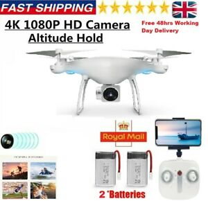RC FPV Drone HD Camera Wifi FVP Quadcopter Altitude Mode Gift Best Tested