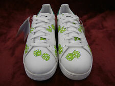 Reebok Ice Cream #BOUTIQUES Green Dice size 10 #Pharrell white shoes #DEADSTOCK