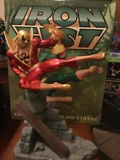 Iron Fist Red Variant Statue By Hard Hero #162/250 ***DAMAGED***