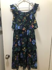 Club Monaco Floral Dress Size 00 NWOT