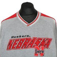 Vintage Lee NEBRASKA HUSKERS Sweatshirt   Sweater Jumper Retro 90s Cornhuskers