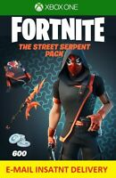 Fortnite The Street Serpent Pack  Xbox One INSTANT E-MAIL Delivery USA REGION