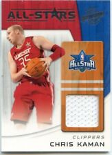 2010-11 PANINI SEASON JERSEY ALL STAR JERSEY RELIC CHRIS KAMAN CLIPPERS WEST