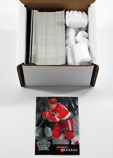 Lot (100) 1995-96 Parkhurst International Crown Silver Sergei Fedorov #14 - Mint
