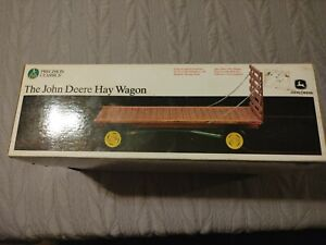 The john Deere hay wagon