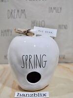 Rae Dunn Birdhouse SPRING apple-shaped NEW Spring '20