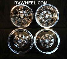 "87 88 Dodge 16"" 8 lug motorhome hubcaps rv simulators"