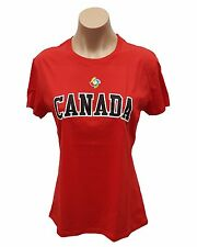 Majestic Canada Baseball Women's WBC T-Shirt, Size L