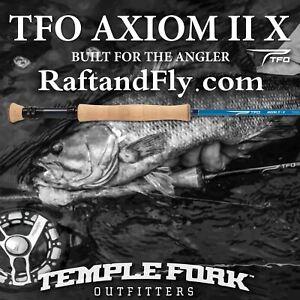 "TFO Axiom II-X 6wt 9'0"" - Lifetime Warranty - FREE SHIPPING"