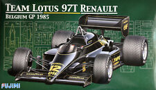 Fujimi 090740 (GP-25). Team Lotus 97T Renault Belgium GP 1985. Model kit 1/20
