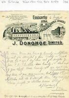Irlande - Enniscorthy - Très Belle Entête d'n Grand Commerce Industriel de 1900