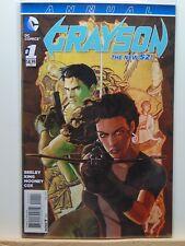 Grayson Annual #1 the new 52 D.C. Universe Comics  CB4550