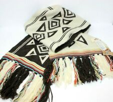 """Hollister """"Betty's"""" Aztec Indian Reversible Sweater Scarf NWT"""