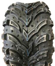 2 New Tires 22 11 8 Deestone Mud Crusher D936 ATV 6 Ply 22x11x8 SIL