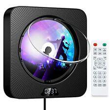 Gueray Tragbarer CD-Player mit Bluetooth Wandmontierbare CD Player für zu