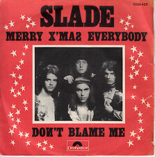 """7"""" 45 TOURS FRANCE SLADE """"Merry X'Mas Everybody / Don't Blame Me"""" 1973"""