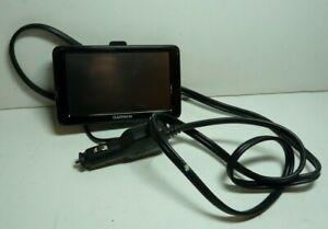 "Garmin Nuvi 2595LM HD 5"" Touchscreen GPS Black #U4510 & Power Cord READ"